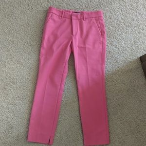 Zara pink trousers (straight cut)